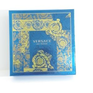 Versace Blue and Gold Box